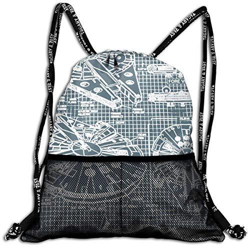 9922843ad1b1 ziHeadwear Broken Glass Drawstring Bag Sport Gym Sack Bundle ...