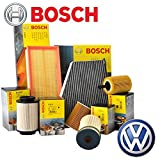 Inspektionskit 4 Filter Bosch Motoren BKC BLS BXE (1457429192; 1457070007 oder 1457070013; 1987429404; 1987432397)