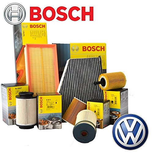 Preisvergleich Produktbild Inspektionskit 4Filter Bosch + 5lt Öl Mobil 1ESP 5W30VW Passat 1.6/1.9/2.0TDI 2005bis 201077/81/88/100/103/105/125kW