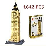 Toyshine Wange The Big Ben of London Building Blocks, 1642 Pcs, World's Great Architecture Series