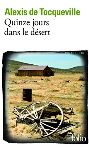 Quinze jours dans le désert par Alexis de Tocqueville