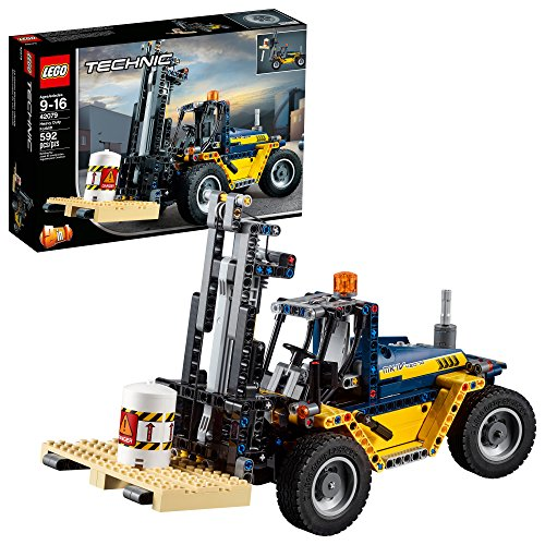 Lego Technics 42079 - Carrello elevatore Heavy Duty (592 pezzi)