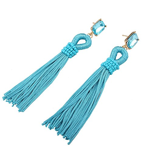 xy-fancy-damen-mode-lange-quaste-strass-ohrringe-ohrstecker-blau