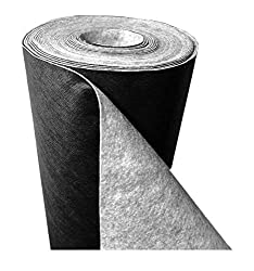 150 g/m² - Reißfestes Premium Unkrautvlies bzw. Unkrautschutzvlies: (L) 25 m x (B) 1,0 m x (H) 1,3 mm