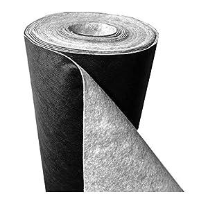 Qualitätsvlies trading-point24 Denise Richter 150 G/m² – Resistente agli Strappi Premium Telo pacciamante in Tessuto o Plant-Protex – Tessuto Non Tessuto: 1,3 mm (L) 25 m x (B) 1,0 m x (H)