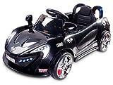 toyz 5905669002691 - Caretero Aero Kinder Elektroauto, schwarz