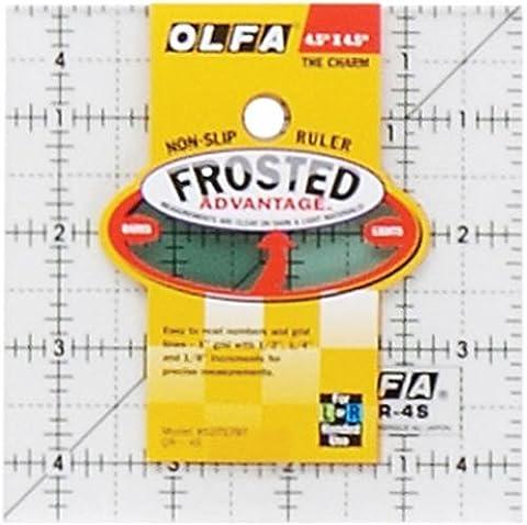OLFA QR4S 1-Piece Acrylic Quilt Ruler,
