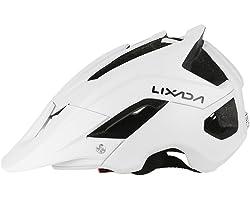 Lixada Mountain Bike Helmet Cycling Bicycle Helmet Sports Safety Protective Helmet 13 Vents Comfortable Lightweight Breathabl