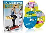 Jennifer Hößler: Die große Fatburner Step Box / 3 DVDs / 3 Step Aerobic Workouts ++ Im Set kaufen...
