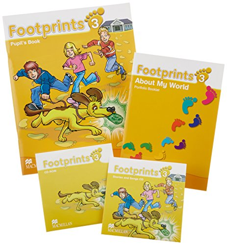 Footprints 3 Pupil's Book / Footprints 3 About My World Portfolio Booklet / Stories and Songs CD / CD-ROM: Pupil's Book Pack por Carol Read