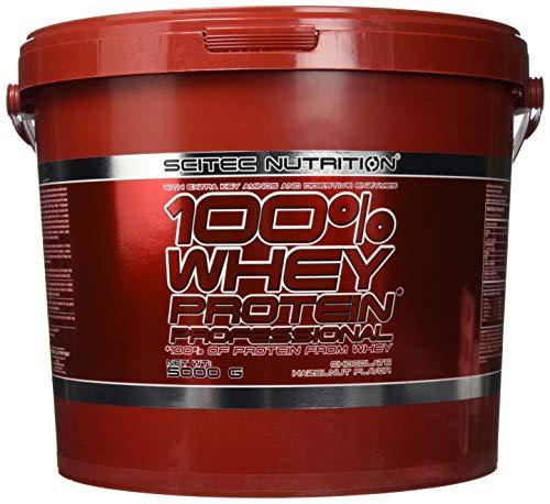 Scitec Nutrition 100% Whey Protein Professional, 5kg Eimer , Schoko-Nuss