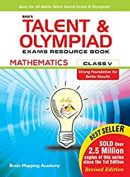 BMA's Talent & Olympiad Exams Resource Book for class-5 (Maths)-2019