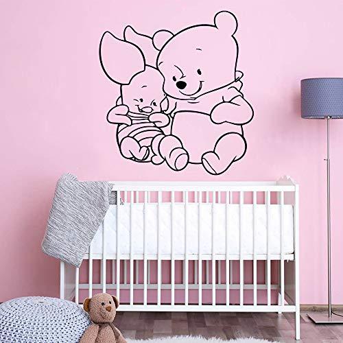 xingbuxin Klassische Kleine Wandaufkleber Personalisierte Vinyl Aufkleber Für Babys Zimmer Kreative wasserdichte Wandbilder Dekoration Zubehör rot L 43 cm X 45 cm (Kleines Journal Notebook)