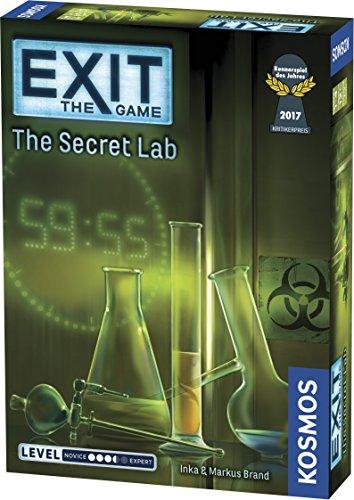 El laboratorio secreto Version en Ingles