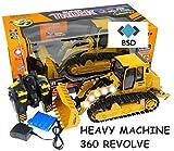 Baufahrzeug SUPER TRUCK 360 REVOLVE - Ferngesteuertes Bulldozer - Schaufelbagger
