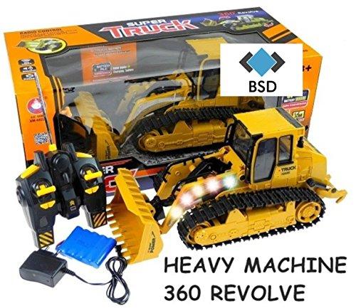 Preisvergleich Produktbild Baufahrzeug SUPER TRUCK 360 REVOLVE - Ferngesteuertes Bulldozer - Schaufelbagger - Radlader - Baufahrzeug ferngesteuert Bagger - Heavy Machine
