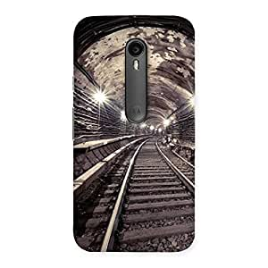 Impressive Track in Tunnel Back Case Cover for Moto G Turbo