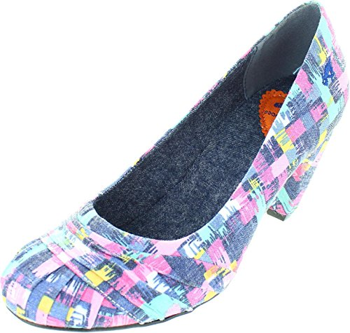 Size 6 Rocket Dog Women's Sparkely Take Off Canvas Court Shoes