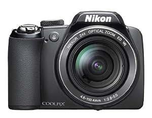 Nikon Coolpix P90 Digitalkamera (12 Megapixel, 24-fach optischer Zoom, 7,6 cm (3 Zoll) Display) schwarz