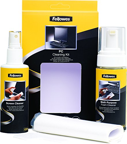 fellowes-kit-di-pulizia-per-pc-spray-125-ml-schiuma-150-ml-panni-assorbenti-e-bastoncini-di-pulizia