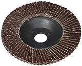 Amico, a13101100ux1123, Coppia 10:16 cm di diametro, ruote lamellari abrasive mole A80, 13.000 giri/min
