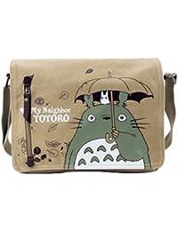 Casinò e attrezzature animanga new Black Butler Tela Borsa Zainetto Zaino Retrò Tracolla Gatto colore marrone Totoro rare Arredamento e forniture scuola prima infanzia