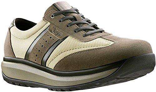 8b53e5240afa8 Joya Shoes - Zapatillas para Hombre Beige Size  45 2 3
