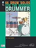 66 Drum Solos for the Modern Drummer: Rock * Funk * Blues * Fusion * Jazz Bk/online audio by Tom Hapke (2001-08-01)