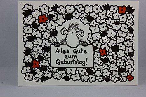 Sheepworld - 50113 - Postkarte, Nr. 10, Geburtstag, Schaf, Alles Gute zum Geburtstag!