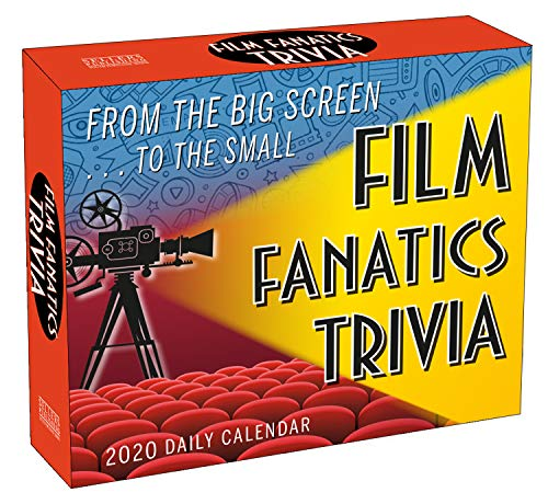 Film Fanatics Trivia 2020 Calendar: From the Big Screen to the Small - Trivia Film