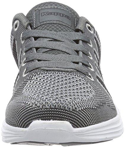 Kappa - Fenix Footwear Unisex, Sneaker basse Unisex – Adulto Grigio (Grau (1611 grey/black))