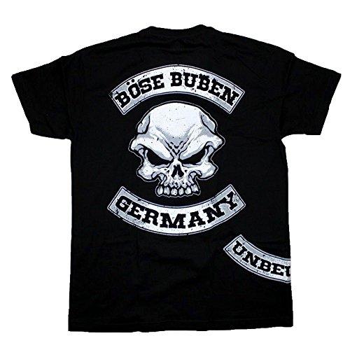 Böse Buben Club Patch Hooligan Biker Rocker Shirt