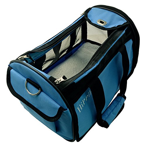 HIPPIH-Pet-Carrier-for-Dogs-Cats-Comfort-Airline-Approved-Travel-Tote-Soft-Sided-Bag