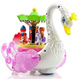 Best One Year Old Gifts - Baybee Autoduck Beautiful Musical Rotating Horses Carousel Music Review