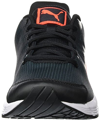Puma Sequence V2 Wn, Chaussures de Running Compétition Femme Noir - Schwarz (puma Black-Red blast 07)