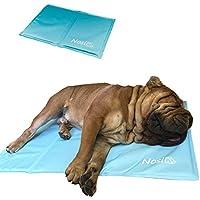 Nosli Kühlmatte Kühldecke Kühlkissen selbstkühlende Decke für Hunde/Ice blue XL