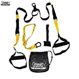 Protone professional suspension trainer - bodyweight strength training system for crossfit / home-gym / gym / travel fitness