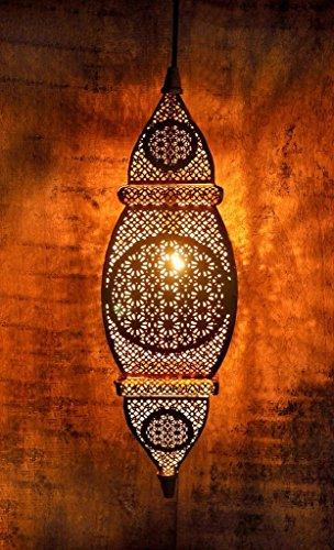 Logam Gold Arabic Hanging Pendant Lamp