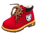 cinnamou Unisex- Jungen Mädchen Winter Schneestiefel Warme weiche Winterschuhe Boots für Kinder Baby