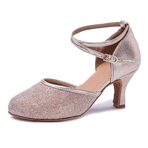 HIPPOSEUS Zapatos Baile Cuero sintético Brillo Mujer
