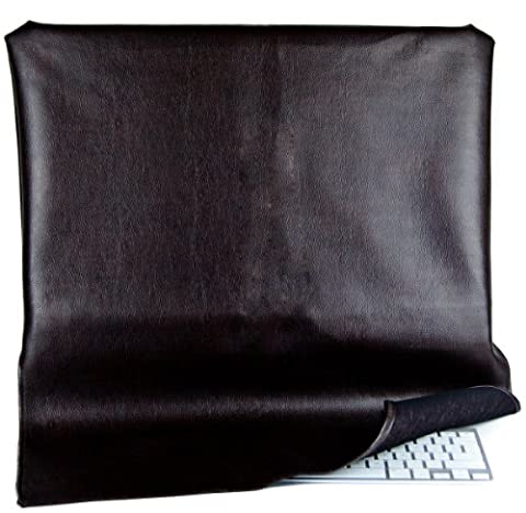Kuzy - Brown Leather Full Cover for Apple iMac 27