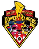 Mighty Morphin Power Rangers Logo & Characters Sticker