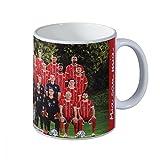 Bayern München Tasse Team 2017/18 - plus gratis Aufkleber forever München