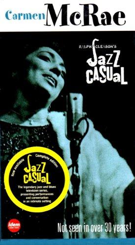 Preisvergleich Produktbild Carmen Mcrae (Ralph Gleason's Jazz Casual) [VHS]