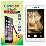 Casotec 2.5D Curved Edge Tempered Glass Screen Protector for Oppo Neo 7