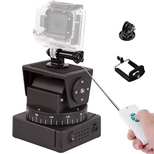 Zifon® YT-260 Fernbedienung motorisierte Pan Tilt für extreme Kamera Wifi Kamera und Smartphone OR069