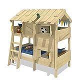 Cama para niños con nivel de juego WICKEY CrAzY Cherry 90 x 200 cm
