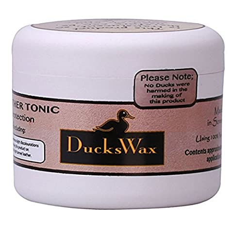 DucksWax Leather Boots Shoes Jackets Wax Dubbing Waterproof Protector Care 100ml Leather Protection