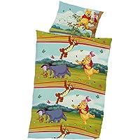 Winnie Pooh Baby Bettwäsche 100x135 Cm, Kissen 40x60 Cm 100 % Baumwolle  Renforce