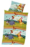 Global Labels Winnie Pooh Baby Bettwäsche 100x135 cm, Kissen 40x60 cm 100% Baumwolle Renforce